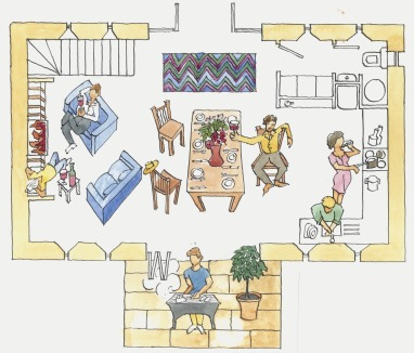 floorplan - downstairs