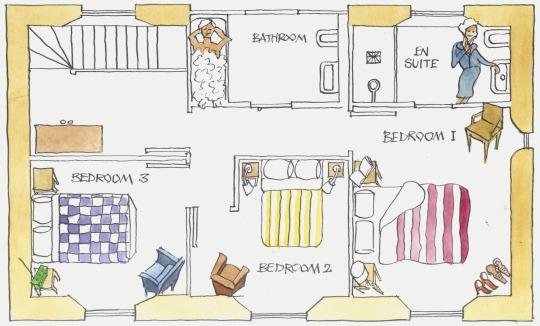 floorplan - upstairs